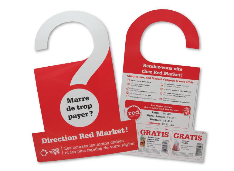 Accroche-porte Red Market