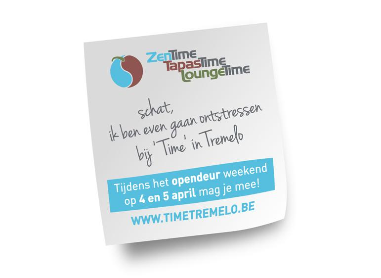 Time Tremelo Post-it® Note